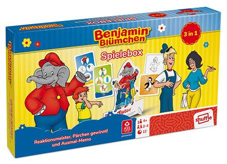 Benjamin Blümchen - Spielebox 3 in 1