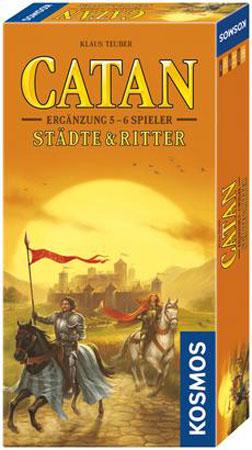 Catan - Städte und Ritter Erweiterung für 5-6 Spieler