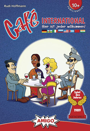 Cafe International - Brettspiel