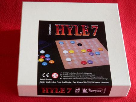 HYLE 7 (mit Spielbrett aus Holz)