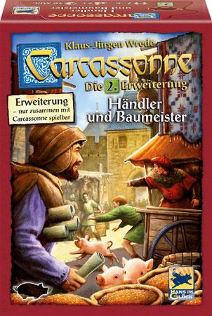 Carcassonne - Händler & Baumeister (2.Erweiterung)