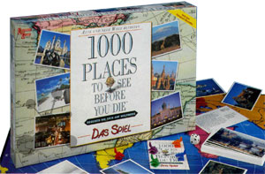 1000 Places to see before you die - Das Spiel
