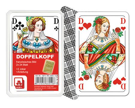Doppelkopf - Französisches Bild