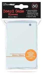 Ultra Pro - 50 Kartenhüllen für Kartengröße 65 x 100 mm