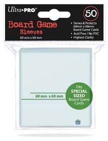 Ultra Pro - 50 Kartenhüllen für Kartengröße 69 x 69 mm