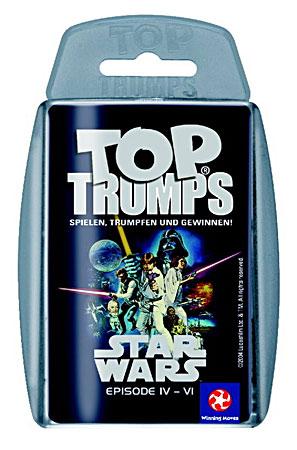 TOP TRUMPS Star Wars IV-VI