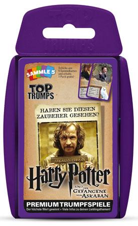 TOP TRUMPS Harry Potter - Und der Gefangene von Askaban