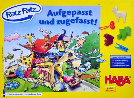 Ratz Fatz - Aufgepasst und Zugefasst