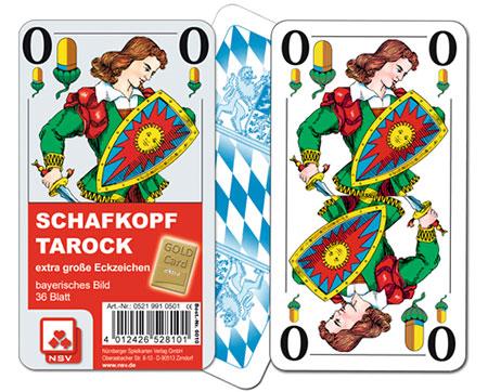 Tarock Schafkopf eXtra cLassic - Bayrisches Blatt - Senioren