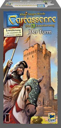 Carcassonne - Der Turm (4. Erweiterung)