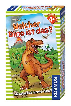Welcher Dino ist das? - Mitbringspiel