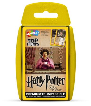 TOP TRUMPS Harry Potter - Und der Orden des Phönix