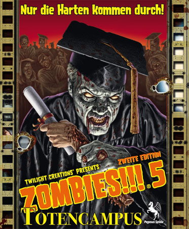 Zombies!!! 5 - Totencampus (2.Edition)