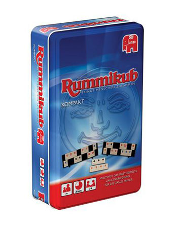 Original Rummikub Kompakt in Metalldose