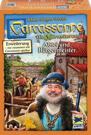 Carcassonne - Abtei & Bürgermeister (5. Erweiterung)