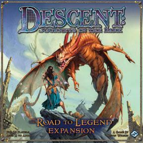 Descent - Journeys in the Dark - Road to Legend (engl.)