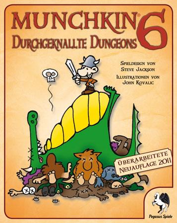 Munchkin 6 - Durchgeknallte Dungeons