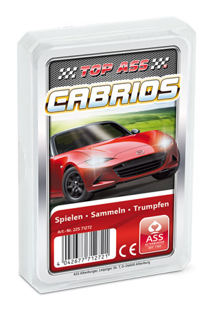TOP ASS - Cabrios Quartett