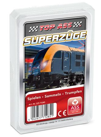 TOP ASS - Superzüge Quartett
