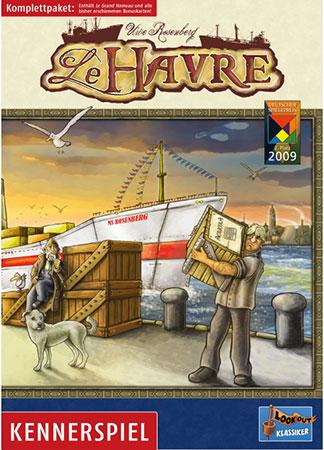 Le Havre inklusive Erweiterung Le Grand Hameau + Bonuskarten