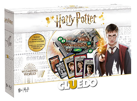 Cluedo - Harry Potter Collectors Edition (Deluxe Version)