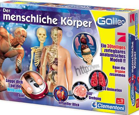 Galileo - Der menschliche Körper (ExpK) Spiel | Galileo - Der ...
