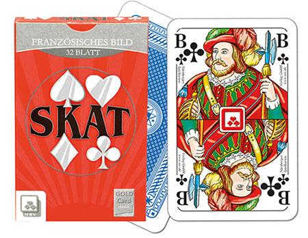 Skat - Classic - französisches Bild in Faltschachtel