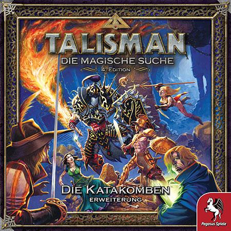 Talisman: Die Magische Suche (4. Edition) - Die Katakomben Erweiterung