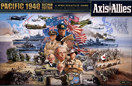 Axis & Allies - Pacific 1940 2nd Edition (engl.)