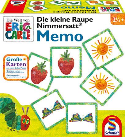Die kleine Raupe Nimmersatt - Memo