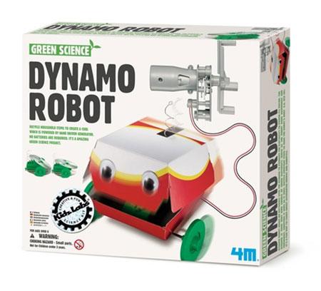 Green Science - Dynamo Roboter