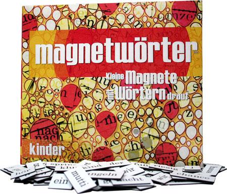 Magnetwörter Kinder