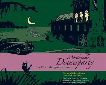 Mörderische Dinnerparty - Der Fluch der Grünen Dame