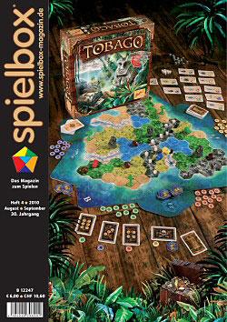 """spielbox 4/2010 inklusive Erweiterung zu """"A la Carte: Die Beilage"""""""