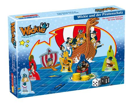 Wickie und die starken Männer Brettspiel - Wickie und der Piratenschatz