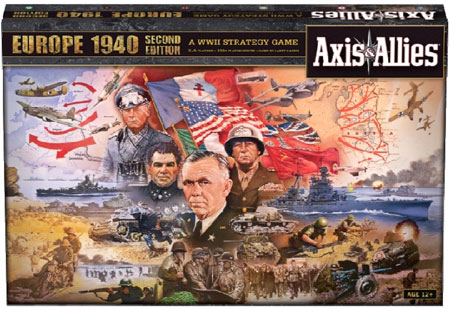 Axis & Allies - Europe 1940 2nd Edition (engl.)