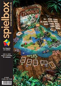 spielbox 4/2010 englische Ausgabe