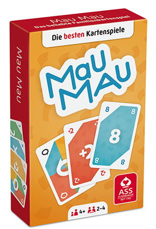 Mau Mau mit 55 Karten