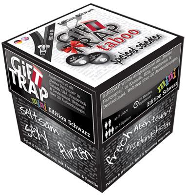 gifttrap mini taboo spiel gifttrap mini taboo kaufen. Black Bedroom Furniture Sets. Home Design Ideas