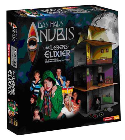 Das Haus Anubis - Brettspiel Das Lebenselexier