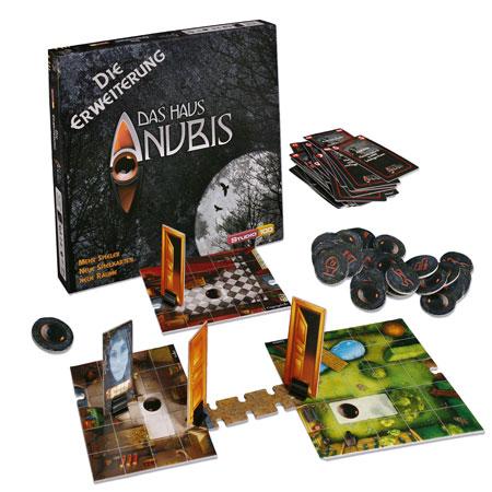 Das Haus Anubis Erweiterung zum Brettspiel