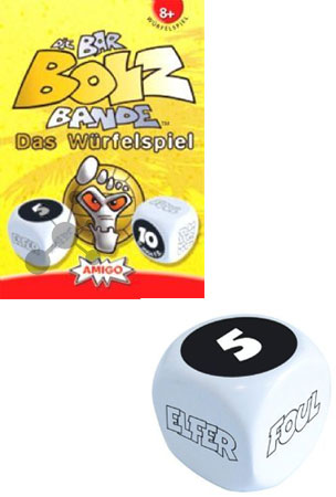 Barbolzbande - Würfelspiel