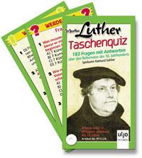 Martin Luther - Taschenquiz