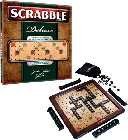 Scrabble Holz