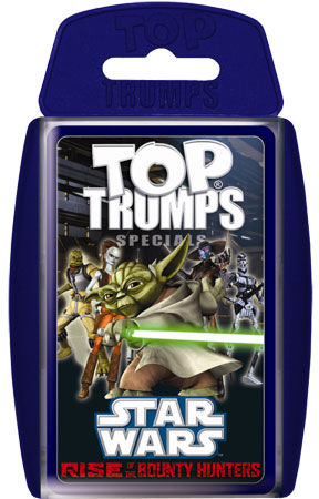 TOP TRUMPS Star Wars - Rise of the Bounty Hunters