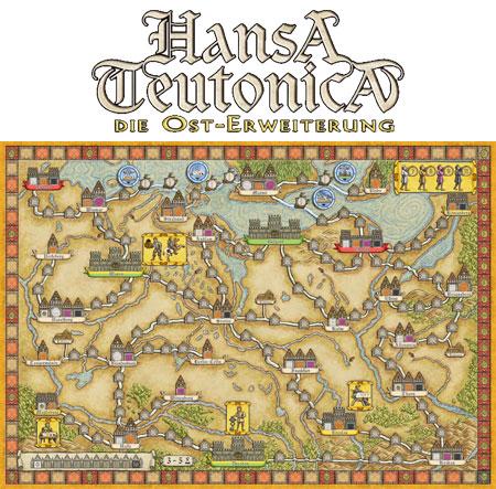 Hansa Teutonica - Osterweiterung
