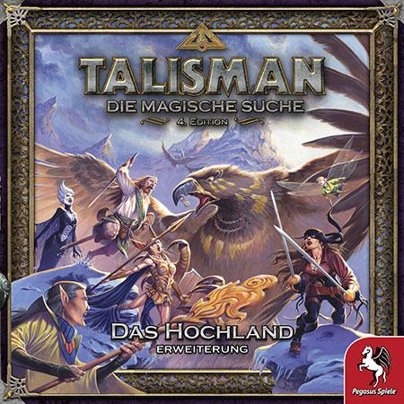 Talisman: Die Magische Suche (4. Edition) - Das Hochland Erweiterung