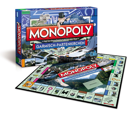 Monopoly Garmisch-Partenkirchen