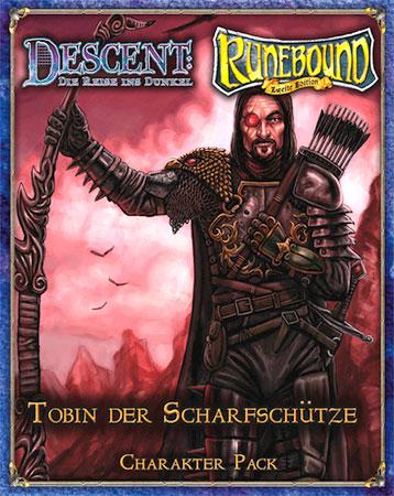 Descent & Runebound Charakter Pack - Tobin der Scharfschütze