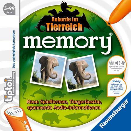 tiptoi - Memory - Rekorde im Tierreich